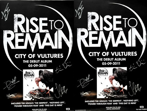 Win a signed Rise To Remain poster! - Indulge-Sound com